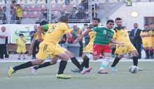 الوحدات يفوز برباعية على شقيقه نعلين وديا بكرة القدم
