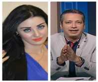 صافيناز تقاضي الإعلامي تامر أمين