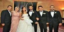 بالصور:  حفل زفاف ساندرا هاني ومحمد جمال