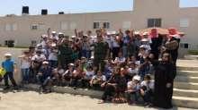 قوات الأمن الوطني الفلسطيني تستضيف مخيم تالا الصيفي الثاني في معسكر حرش السعادة