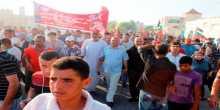 الشعبية في رفح تحيي ذكرى مرور عام على مجزرة رفح بمسيرة جماهيرية حاشدة