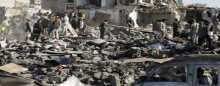 مقتل 9 أشخاص وإصابة 81 آخرين فى انفجار عدة ألغام جنوبى اليمن