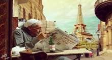 فنان جرافيك مصري يخلط أشهر المدن ببعضها