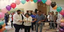 افتتاح معرض الام والطفل الثاني في فلسطين