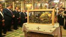 جامعة القدس تُسلم رفات ثلاثة قديسين لكنيسة الروم الأرثوذكس