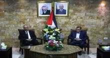 الفتياني يستقبل وزير الأوقاف المغربي احمد توفيق
