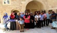 """""""ديرنا الشبابي"""" ينظم رحلة للمناطق الأثرية بقطاع غزة"""