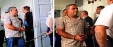 """شاهد: أول صور للبناني صاحب """"شاحنة الموت"""" وجثثها الـ 71 السورية"""