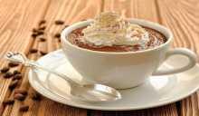 مهلبية بالقهوة والكريمة