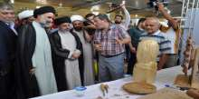 مزار ميثم التمار يقيم معرض حي للنقش والزخرفة الاسلامية ضمن فعاليات مهرجان التمار الثامن