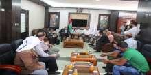 رئيس بلدية يطا وأمين سر الاقليم يلتقيان وزير الزراعة