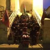 مفوضية كشافة ومرشدات محافظة نابلس تشارك في فعاليات رفع العلم الفلسطيني