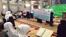 """صور..أهل الخير في قطر ينظمون لقاء إيمانيا بعنوان """"ثابتون في ارض الرباط """" في المسجد الأقصى"""