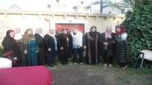 زيارة وفد من لجنة المرأة في حركة فتح لبلدة وبلدية تفوح بالخليل