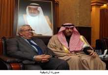 سفير خادم الحرمين الشريفين بعمّان يلتقي رئيس مجلس الأعيان الأردني