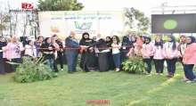 سيدة الأعمال الإماراتية ريد الظاهري تفتتح مدرسة جرين فالي للغات في مصر