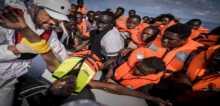 انقاذ أكثر من 1800 مهاجر من ستة قوارب مقابل سواحل ليبيا
