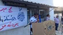 ثانوية الأقصى تستقبل الاستاذ حسين الجمل بعد رحلة الحج