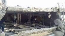صور الدمار الذي خلفه تفجير الإحتلال لمنزل الشهيد غسان أبو جمل في مدينة القدس