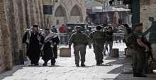 صور..إنتشار كثيف لجيش الإحتلال في مدينة القدس وأزقة البلد القديمة