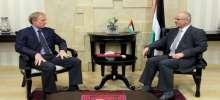 الحمد الله يطلع ممثل ألمانيا لدى فلسطين على إنتهاكات الاحتلال