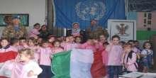 أنشطة تربوية لليونيفيل الإيطالية في جنوب لبنان