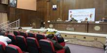 """تواصل فعاليات مؤتمر"""" قطاع غزة: الواقع وآفاق المستقبل"""" لليوم الثاني على التوالي بجامعة الأزهر-غزة"""