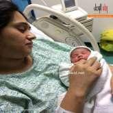 شاهد الصور الاولى لمولودة جورج وسوف وندى زيدان