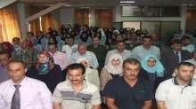 """قوات الأمن الوطني الفلسطيني تشارك في حضور العرض المسرحي التراثي"""" بيتنا ليس للبيع"""""""