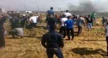 فيديو جديد للإشتباكات الدائرة شرق غزة