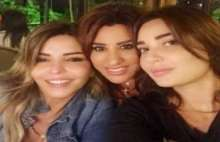 بالصور : نجوى كرم وسيرين عبد النور تحتفلان بعيد ميلاد ريما نجيم
