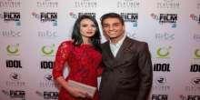 بالصور: أول ظهور رسمي لمحمد عساف وخطيبته في مهرجان لندن السينمائي