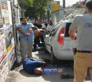 شاهد: فيديو اطلاق النار على منفّذ عملية الدهس في القدس