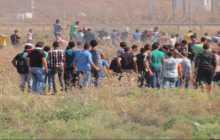 13 اصابة في مواجهات غزة