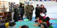 هبة إيطالية دولية لجمعية رعاية الأطفال في عيتا