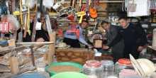 الغرفة التجارية ومديرية الشرطه في محافظة طوباس تكرمان رجال البدايات للحركة التجارية في محافظة طوباس