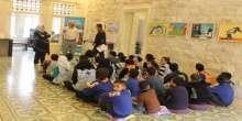 كشافة ومرشدات يافا تزور المعهد الفرنسي في نابلس