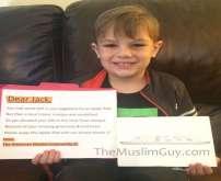 طفل أمريكي يتبرع بـ20 دولارا لبناء مسجد فكانت المفاجأة.. (صور)