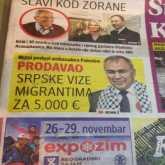 """السفير الفلسطيني في صربيا :""""بيّاع فيز"""" .. يحصل على 5000 يورو لكل فيزا وثروته وصلت مليون يورو !"""