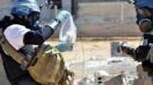 """أعربت منظمة حظر الاسلحة الكيميائية الاثنين عن """"قلقها البالغ"""" حيال استمرار استخدام اسلحة كيميائية في سوريا"""