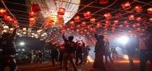 مهرجاء الأضواء في مينمار
