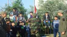 الشبيبة تحتفل بذكرى الشهيد ياسر عرفات في مدرسة مسقط