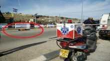 """فيديو وصور..الإعلان عن استشهاد مواطن على حاجز زعترة جنوب نابلس بزعم""""محاولة طعن"""""""