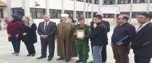 قوات الأمن الوطني الفلسطيني تشارك بحفل افتتاح الحديقة المدرسية في مدرسة بنات جلبون الأساسية