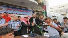 """لأول مرة بمنطقة التفاح..أسرة مسجد الرحمن تنظم ماراثوناً رياضياً بعنوان شهداء """"انتفاضة القدس"""""""
