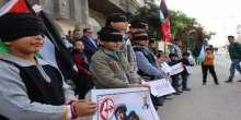 أشبال الجبهة الشعبية في خان يونس يشاركون بوقفة إسنادية لأطفالنا الأسرى