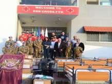 هبة ايطالية للصليب الاحمر اللبناني في مدينة صور