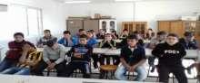 هيئة التوجيه السياسي تلقي محاضرة بعنوان توعية الحس الوطني في مدرسة ذكور امريش الأساسية