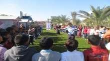 جمعية الرواد تنظم رحلة ترفيهية لأطفال مشروع التعافي من الحرب شرق محافظة خانيونس
