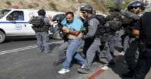 قوات الاحتلال الاسرائيلي تقتحم بلدة حزما شمال شرق القدس واعتقال عشرة شبان